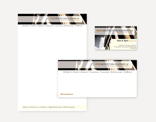 Ryan Architectural Solutions Stationery Set